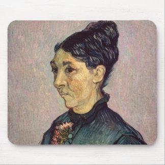 Tapis De Souris Madame Jeanne Lafuye Trabuc de Vincent van Gogh |