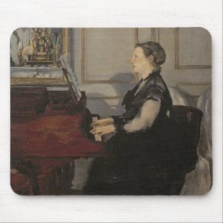 Tapis De Souris Madame Manet au piano, 1868 de Manet |