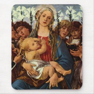 Tapis De Souris Madonna avec le chant de huit anges