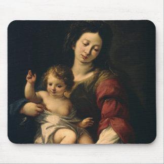 Tapis De Souris Madonna et enfant
