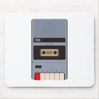 Tapis De Souris Magnétophone à cassettes