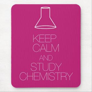 Tapis De Souris Maintenez chimie calme et d'étude