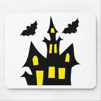 Tapis De Souris maison de Halloween