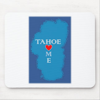 Tapis De Souris Maison du lac Tahoe