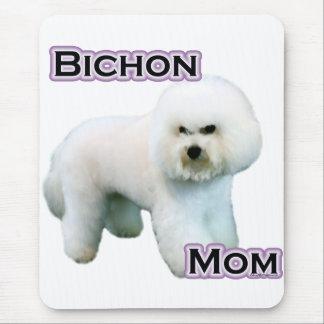 Tapis De Souris Maman 4 de Bichon Frise