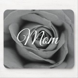 Tapis De Souris Maman monochromatique personnalisée Mousepad rose