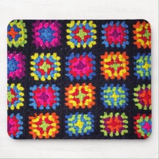 Tapis De Souris Mamie Mousepad carré - crochet Mousepad