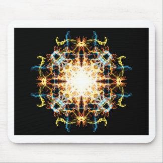 Tapis De Souris Mandala d'éclairage