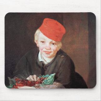 Tapis De Souris Manet | le garçon avec les cerises, 1859