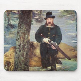 Tapis De Souris Manet   Pertuiset, chasseur de lion, 1881