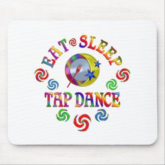 Tapis De Souris Mangez la danse de robinet de sommeil
