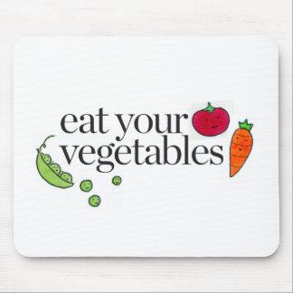 Tapis De Souris Mangez vos légumes