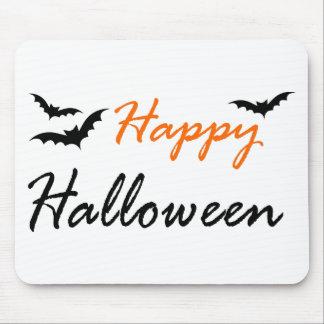 Tapis De Souris manie la batte Halloween heureux