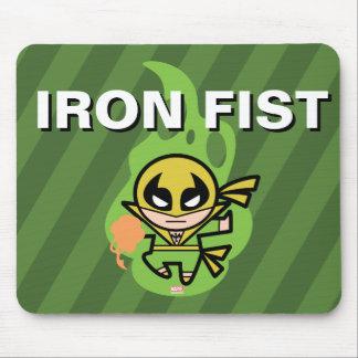 Tapis De Souris Manipulation de Chi d'Iron Fist de Kawaii
