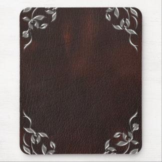 Tapis De Souris Mariage en cuir occidental sophistiqué