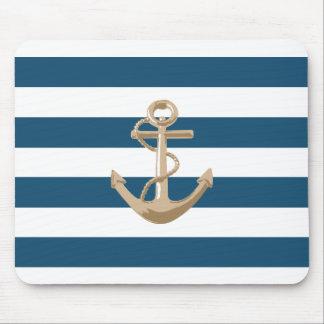 Tapis De Souris Maritime et nautique avec l'ancre - Mousepad