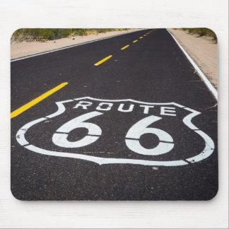 Tapis De Souris Marqueur de route de l'itinéraire 66, Arizona