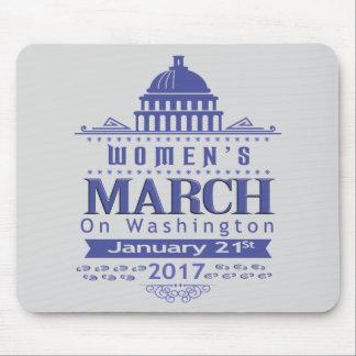 Tapis De Souris Mars de million de femmes sur Washington Mousepad