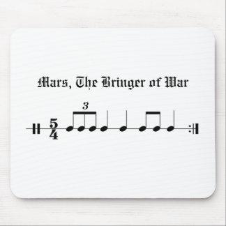 Tapis De Souris Mars, le Bringer de la guerre