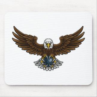 Tapis De Souris Mascotte de roulement de sports d'Eagle