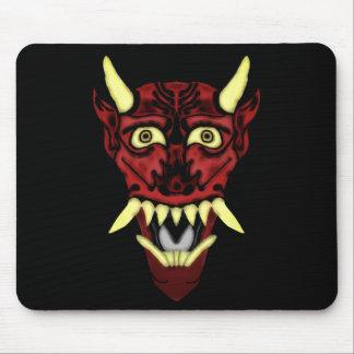 Tapis De Souris masque de démon de hannya