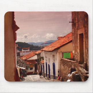 Tapis De Souris Matin dans la rue de Taxco