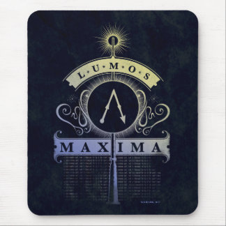 Tapis De Souris Maximum du charme | Lumos de Harry Potter
