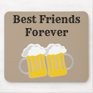 Tapis De Souris Meilleurs amis pour toujours