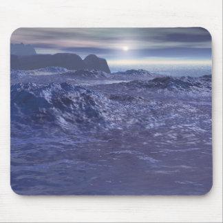 Tapis De Souris Mer congelée de Neptune