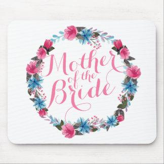 Tapis De Souris Mère de la jeune mariée Mousepa l'épousant floral