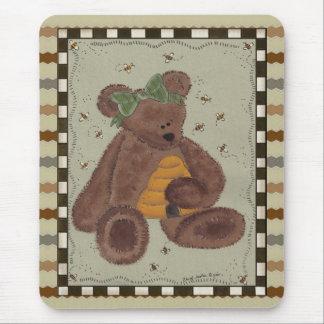 Tapis De Souris Miel d'ours de nounours