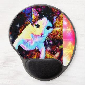 Tapis de souris mignon coloré de gel de disco de