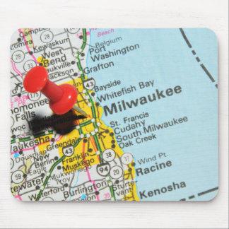 Tapis De Souris Milwaukee, le Wisconsin