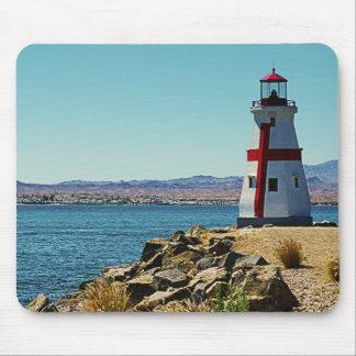 Tapis De Souris Mini phare, Lake Havasu