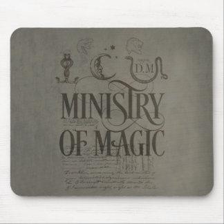 Tapis De Souris MINISTÈRE du charme | de Harry Potter de MAGIE