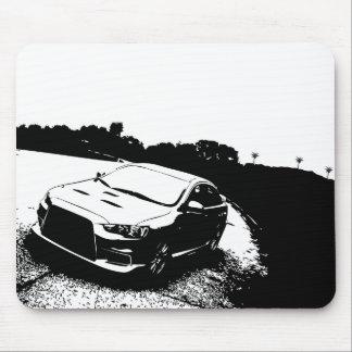 Tapis De Souris Mitsubishi Lancer Evo X