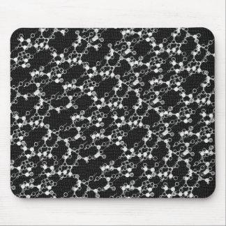 Tapis De Souris Molécule noire Mousepad