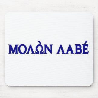 Tapis De Souris Molon Labe dans le lettrage grec
