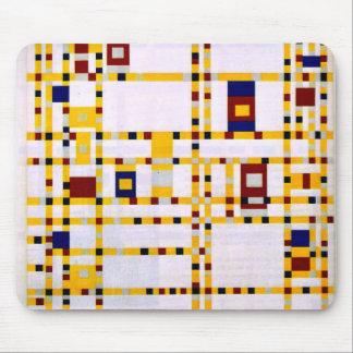 Tapis De Souris Mondrian - boogie Woogie de Broadway