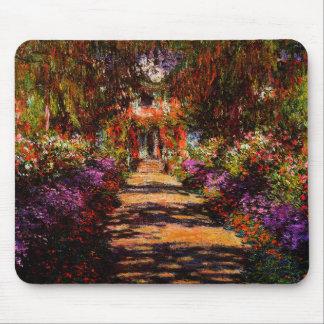 Tapis De Souris Monet-Voie de Claude dans le jardin de Monet chez