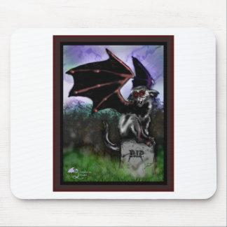 Tapis De Souris Monstre de batte à ailes par singe de vol de Rebob