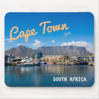 Tapis De Souris Montagne de Tableau à Cape Town, Afrique du Sud.