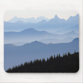 Tapis De Souris Montagnes de cascade du parc national de mont