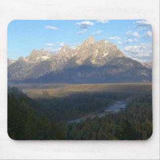 Tapis De Souris Montagnes de Jackson Hole (parc national grand de
