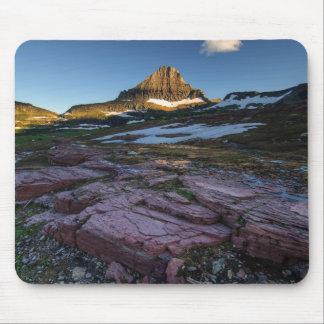 Tapis De Souris Montagnes de parc national de glacier