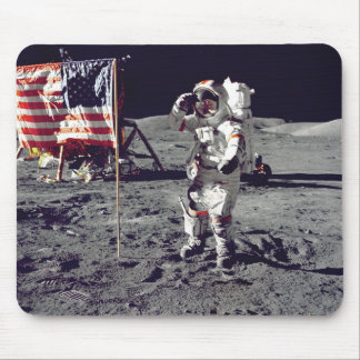 Tapis De Souris Moonwalk Apollo 17