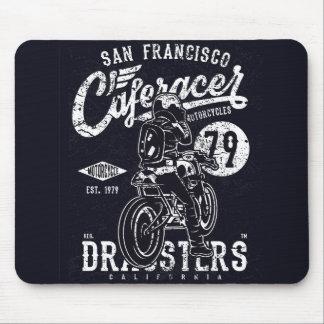 Tapis De Souris Moteur la Californie de coureur de café de San
