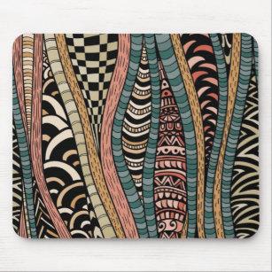 tapis de souris ethnique personnalis s. Black Bedroom Furniture Sets. Home Design Ideas