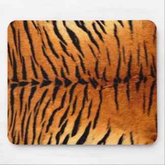 Tapis De Souris Motif animal orange et noir de fourrure de tigre