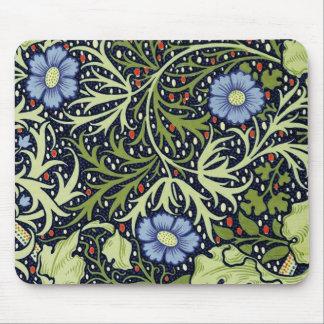 Tapis De Souris Motif de papier peint d'algue de William Morris